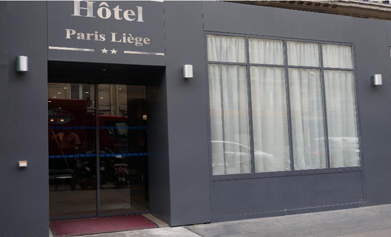 fachada del hotel París Liege