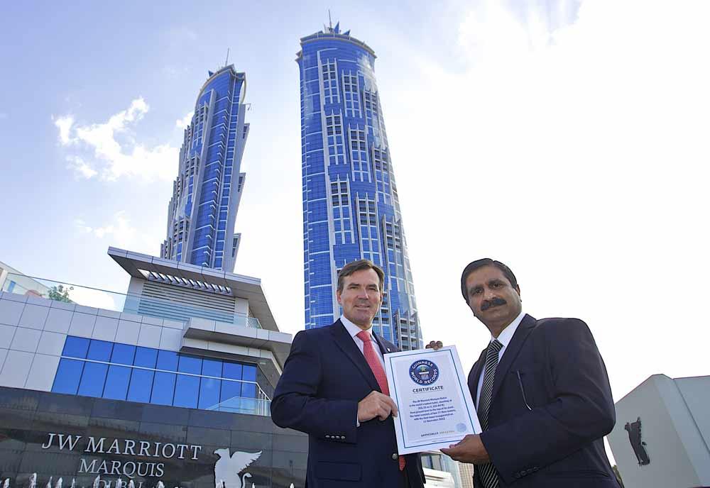 Marriott Marquis hotel, Dubai