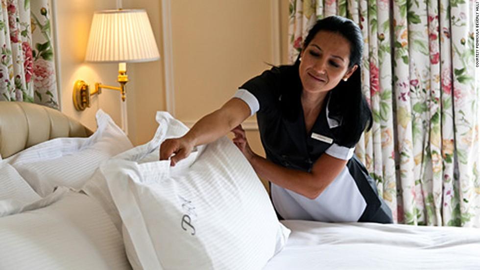 Almohadas y hoteles